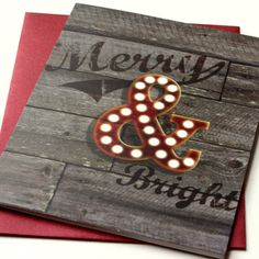 Holiday Cards / Christmas Cards Set of 8 by InkDropDesign