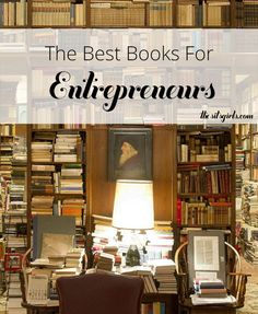 Reading recommendations to help you step up your business game. This reading list is a collection of the best books for entrepreneurs  - it is great for bloggers who want to turn their blog into a business, too. | Make Money Blogging | Reading Challenge | Book Recommendations