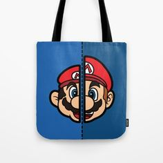 Old & New Mario Tote Bage