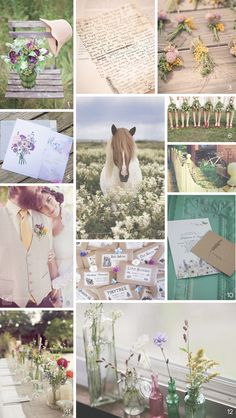 Weekly Inspiration: Wildflowers - new inspiration board on the 23Eleven Events blog!  www.23ElevenEvents.com/blog