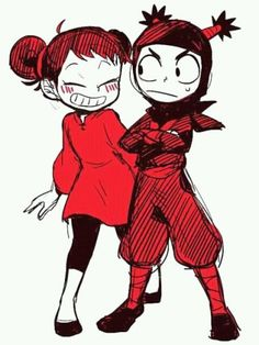 Geez, I haven't thought about Pucca for years. I used to watch this show all the time when I was a kid. Anime Vs Cartoon, Cartoon Fan, Cartoon Shows, Cartoon Characters, Manga Anime, Anime Art, Anime Version, Character Design Inspiration, Cartoon Wallpaper