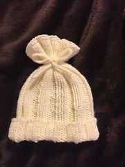 Ravelry: Shirelwebb's Rib-Knit Baby Hat | Finished 1/17/16