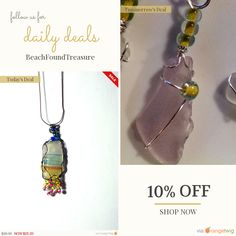 Today Only! 10% OFF this item.  Follow us on Pinterest to be the first to see our exciting Daily Deals. Today's Product: Beach jewelry women - Beaded - Valentine Gift - Gift for Wife - Boho - Wire Wrap Beach Scene Beach Glass Buy now: https://www.etsy.com/listing/494563710?utm_source=Pinterest&utm_medium=Orangetwig_Marketing&utm_campaign=Easter #etsy #etsyseller #etsyshop #etsylove #etsyfinds #etsygifts #beachglassjewelry #shop #seaglass #beachglass #picoftheday #onlineshopping #instashop…