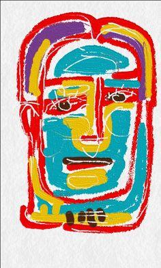 Angústia da espera. Ilustração feita em tela de aparelho celular. Paulo Moura, 2015.