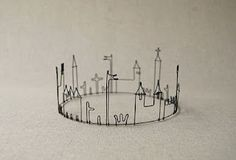 Kingdom Skyline Crown - can DIY for your princess!