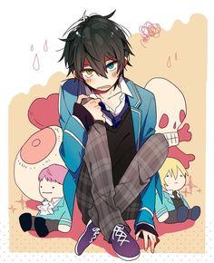 Manga Boy, Manga Anime, Anime Art, Hot Anime Guys, Cute Anime Boy, Anime Boys, Anime Style, Mika Kagehira, Estilo Anime