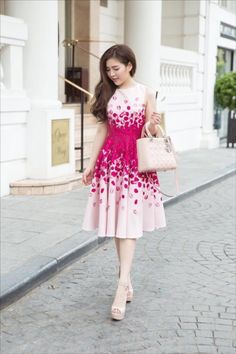 Asian cocktail dress — 1