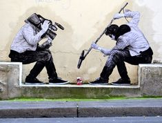 Levalet Injects Humor into the Streets of Paris | Zeutch