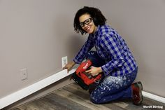 Don't hire a contractor to install baseboard. This step-by-step guide contains everything you want and need to know about how to install baseboard yourself. Wood Baseboard, Baseboard Styles, Moldings And Trim, Moulding, Shoe Molding, Crown Molding, How To Install Baseboards, Door Casing, Funky Junk