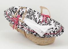 Girly Moses Basket