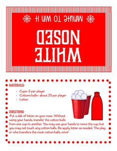 Minute To Win It Games For Adults, Minute To Win It Games Christmas, One Minute Party Games, Valentine's Day Party Games, Fun Christmas Party Games, Xmas Games, Christmas Games For Family, Easter Games, Family Games