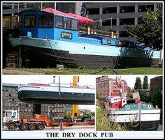 The Dry Dock Pub, Leeds UK