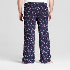 Men's Big & Tall Fleece Pajama Pants - Goodfellow & Co Xavier Navy 3XBT