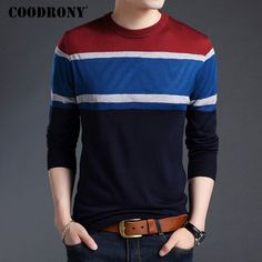 Cheap pullover men, Buy Quality men sweater directly from China men sweaters and pullovers Suppliers: COODRONY Mens Sweaters And Pullovers 2017 New Arrival Autumn Winter Casual Striped O-Neck Sweater Men Cashmere Wool Pullover Men Fall Winter, Autumn, Cashmere Wool, Pulls, Casual, Men Sweater, Pullover, Sweaters, Mens Tops