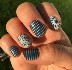 #PrepSchoolJN #FractalJN #Jamberry #B3G1 Shop at https://jamminmomma79.jamberry.com/ #angiesjammies #manicure #nailwraps #nails