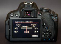 100 Secrets of Canon EOS Cameras: auto exposure bracketing