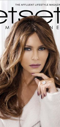 First Lady Melania Trump Our wonderful First Lady! Trump Melania, Donald Und Melania Trump, Melania Knauss Trump, First Lady Melania Trump, Melina Trump, Ivana Trump, Milania Trump Style, Donald Trump Family, Divas
