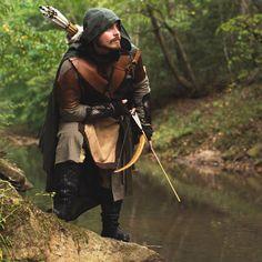 Medieval & Fantasy Wool Cloak