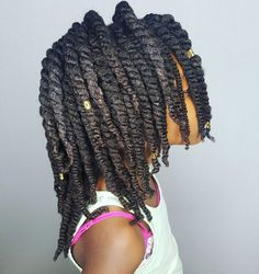 Twists- Hairstyle for little girls