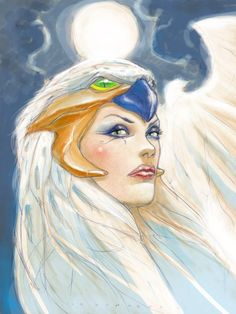 Masters of the Universe - Sorceress by Adriano De Vincentiis *