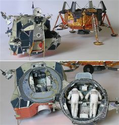 Módulo Lunar LM5 MODEL KIT 32 ESCALA