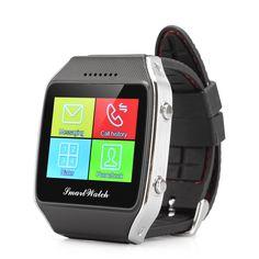 Otium Gear Neo Bluetooth Smart Watch Phone - Micro SIM Slot, 1.65 Inch Display, Pedometer, Phonebook Sync, Message Notifier