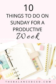 Sunday Routine, Evening Routine, Productivity Hacks, Write It Down, Transform Your Life, What To Make, Fresh Start, Positive Mindset, Stress Management