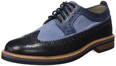 Oferta: 120€ Dto: -10%. Comprar Ofertas de Clarks Pitney Limit, Zapatos de Vestir para Hombre, Azul (Blue Combi Lea), 47 EU barato. ¡Mira las ofertas!