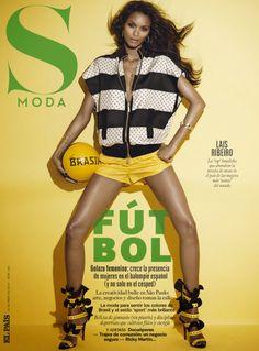 Lais Ribeiro by Jonas Bresnan for S Moda Magazine, May 2014
