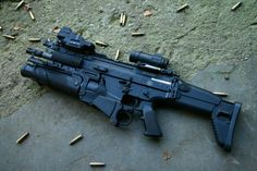 Fully Equipped FN SCAR