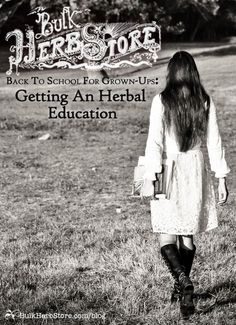 Back to School for Grown-Ups: Getting an Herbal Education