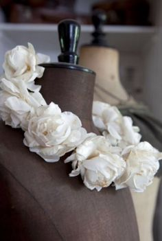 """This flowery decoration is from our feature """"Pursuit of Pleasure"""""""