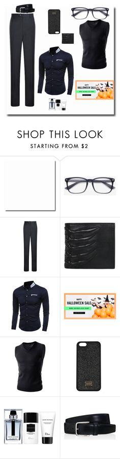 """""""Zaful #5"""" by s-o-polyvore ❤ liked on Polyvore featuring Alexander McQueen, Christian Dior, Tod's, men's fashion and menswear"""