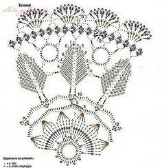 leaf doily crochet 1