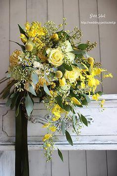 Yellow White Wedding, Yellow Wedding Flowers, Yellow Flowers, Floral Wedding, Yellow Bouquets, Floral Bouquets, Floral Centerpieces, Floral Arrangements, Flower Decorations