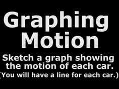 Graphing Motion #10