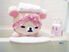 There is 0 tip to buy hat, kawaii, rilakkuma, stuffed animal, korilakkuma. Kawaii Plush, Kawaii Cute, Rilakkuma, Softies, Plushies, Hello Kitty, Hamster, Cute Stuffed Animals, Kawaii Shop