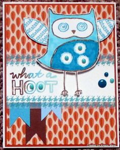 Create with Alyson: August SOTM Blog Hop - What a Hoot! #Pathfinding #ShinHan