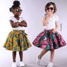 For all beautiful parents out here go order your kid's new African print outfit at from Paris all designed to suit your little girls and boys I'm already in love, can't wait to have kids so I can order ahah South African Dresses, African Dresses For Kids, African Wear, African Fashion Dresses, Little Girl Dresses, Girls Dresses, Ankara Styles For Kids, African Blouses, Kind Mode