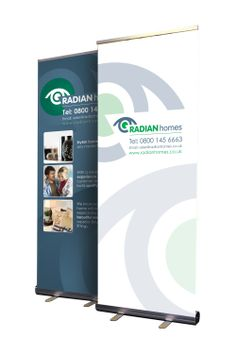 Design of pull-up banners for Boundary View. Pull Up Banner Design, Exhibitions, Banners, Label, Banner, Posters, Bunting