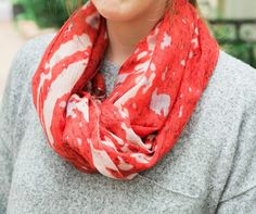 Spring scarves are now marked down