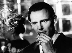 Liam Neeson as the heroic Oskar Schindler in the Holocaust movie, Schindler's list.