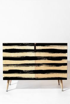 Kelly Haines Paint Stripes Credenza | DENY Designs Home Accessories