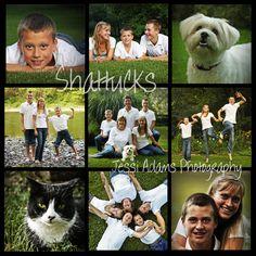 family picture poses   Beautiful Backyard, Beautiful Family- The Shattucks
