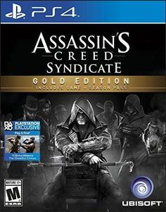 Assassins Creed: Syndicate Gold Edition- Playstation 4