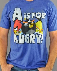 Black Friday Weekend Sale - Angry Birds T Shirt Sheer