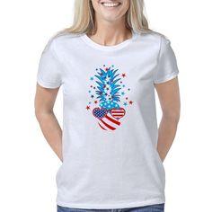 Funny Patriotic Pineapple American Spirit, Celebrities, Mens Tops, Shirts, Women, Fashion, Moda, Celebs, Fashion Styles