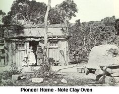 Pioneer Homes of the 1800s | Pioneer Home - Click to enlarge