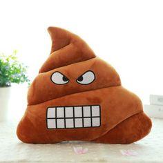 2016 Mini Emoji Pillow Cushion Poop Shape Pillow Doll Toy Throw Pillow Amusing emotion Poo Cushion almofadas drop shipping