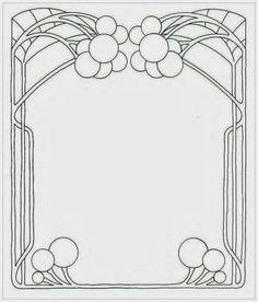 View album on Yandex. Blank Coloring Pages, Art Nouveau Illustration, Decorative Plaster, Art Nouveau Design, Inspiration Art, Ap Art, Technical Drawing, Letter Art, Linocut Prints